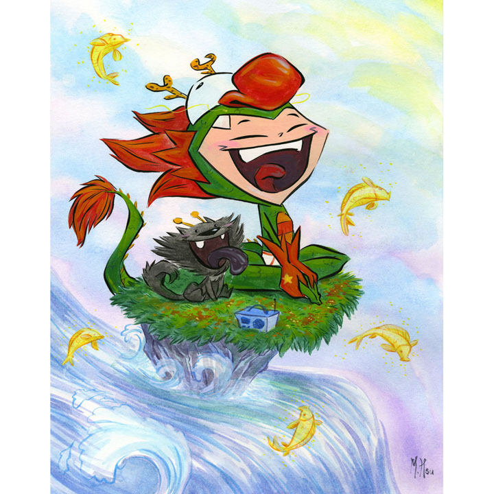 Martin Hsu  Dragon Boy GO! Taipei Exhibition