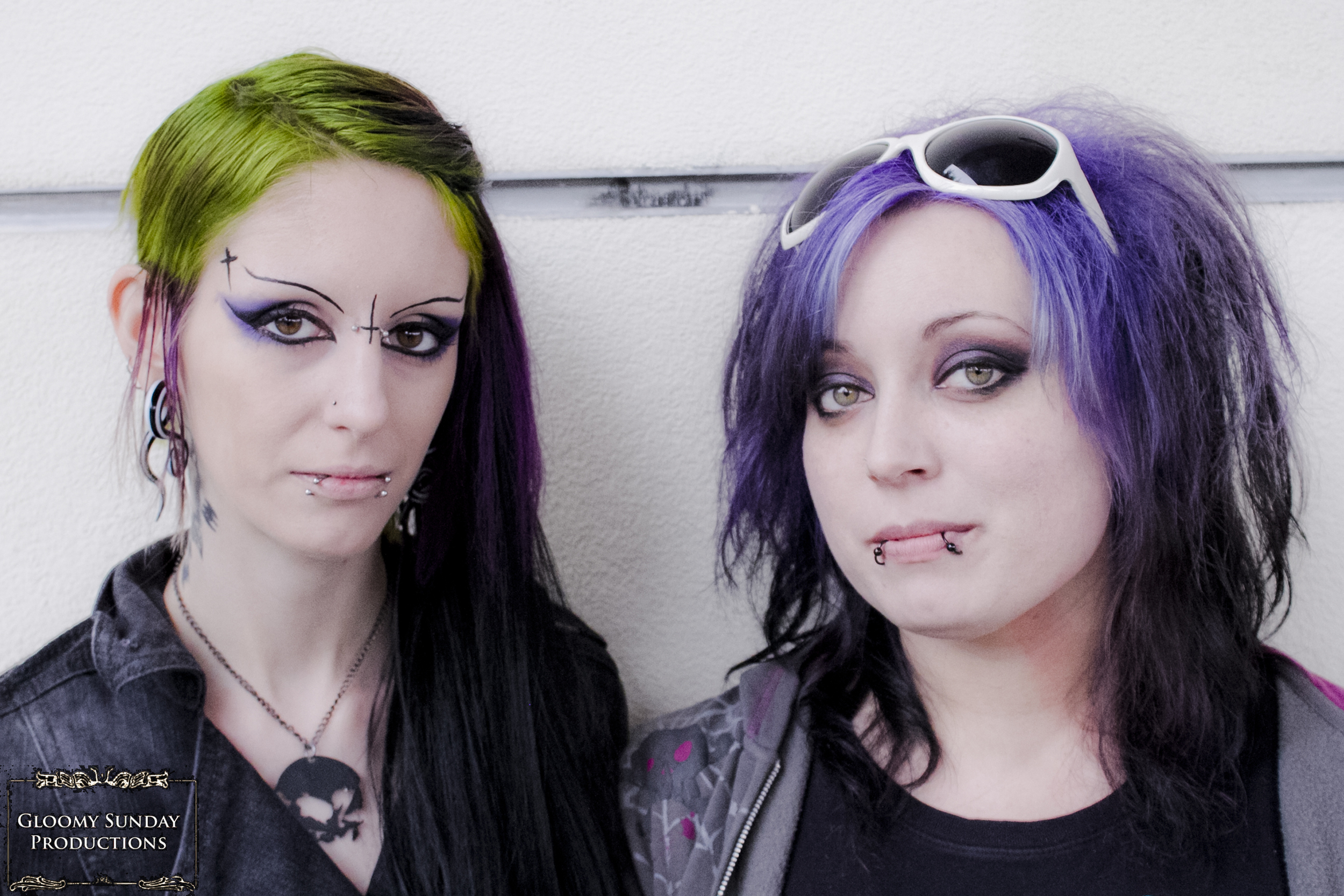 Crypticon Ghoulgirls Arianna Clawson & Jacqueline Slaughter