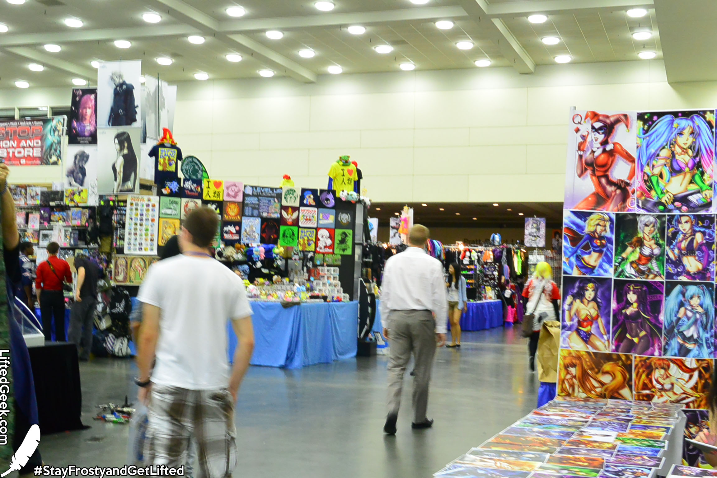 Spacious Exhibitor's Hall