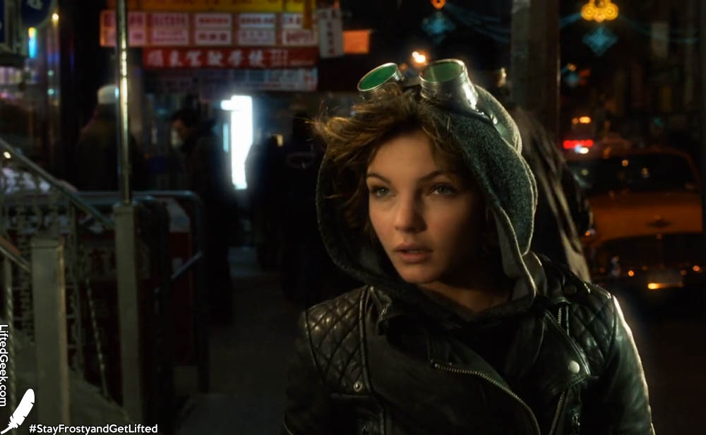Camren Bicondova as a young Selina Kyle... the little girl who grows up to be Catwoman