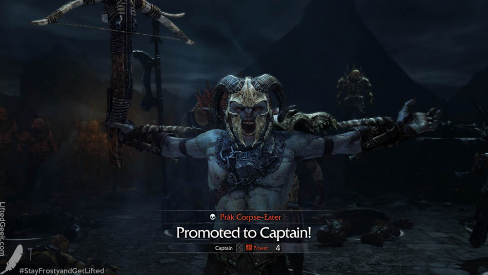 Uruk's get promoted as time passes
