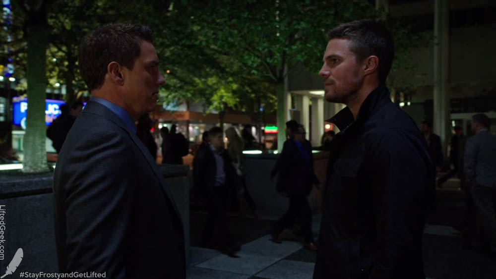 Face to face with Malcolm Merlyn