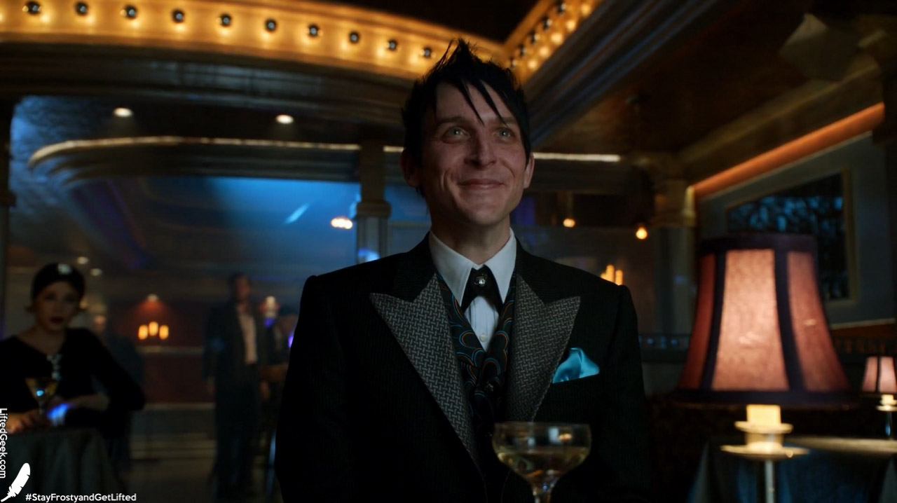 """running """"Oswald's"""" in pure mobster fashion"""