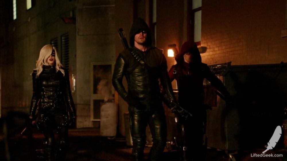 Team Arrow: Public Enemies