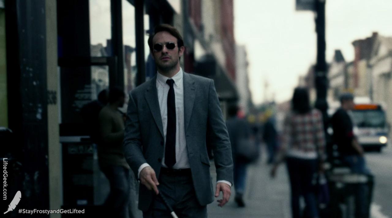 Charlie Cox as Matt Murdock/Daredevil on Marvel's Daredevil