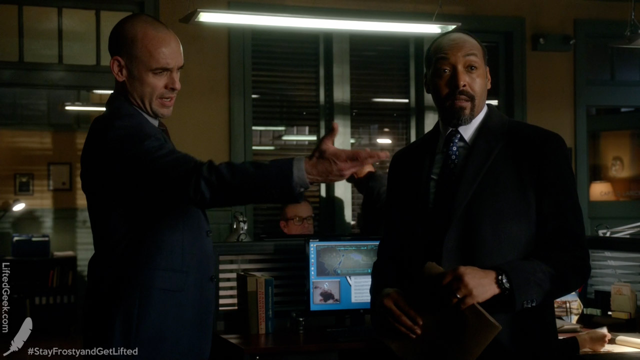 a police officer team up, Captain Lance works with Detective West