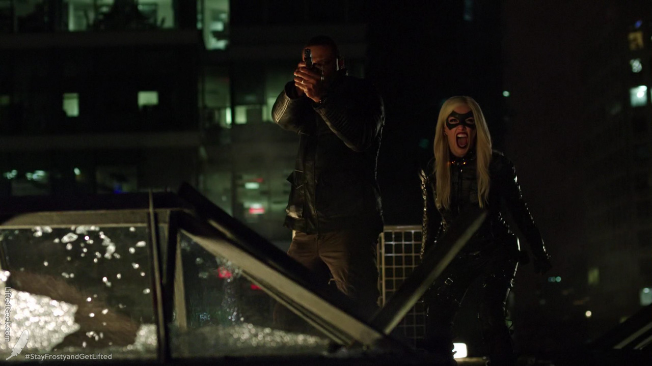 Laurel gets her Canary Cry