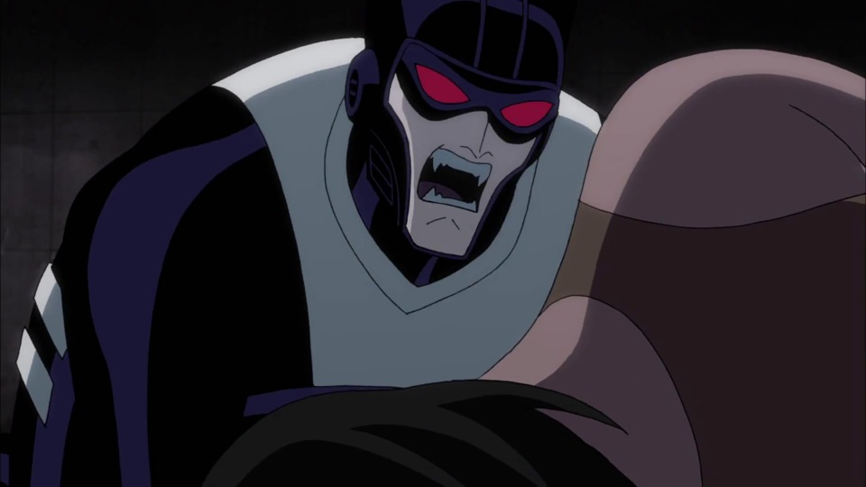 a vampiric Batman