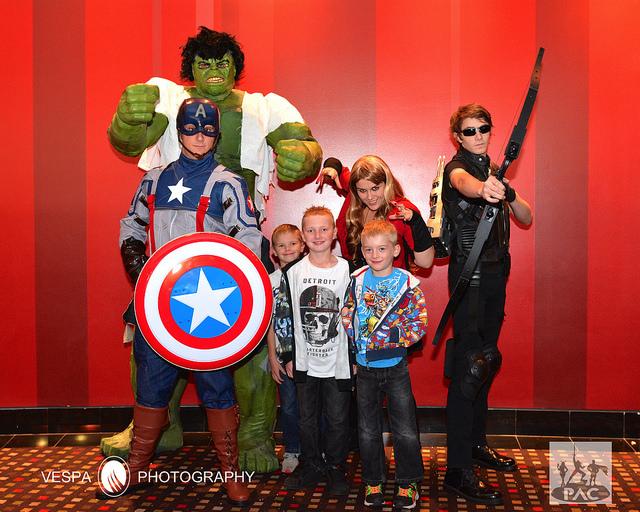 The Avengers movie screening