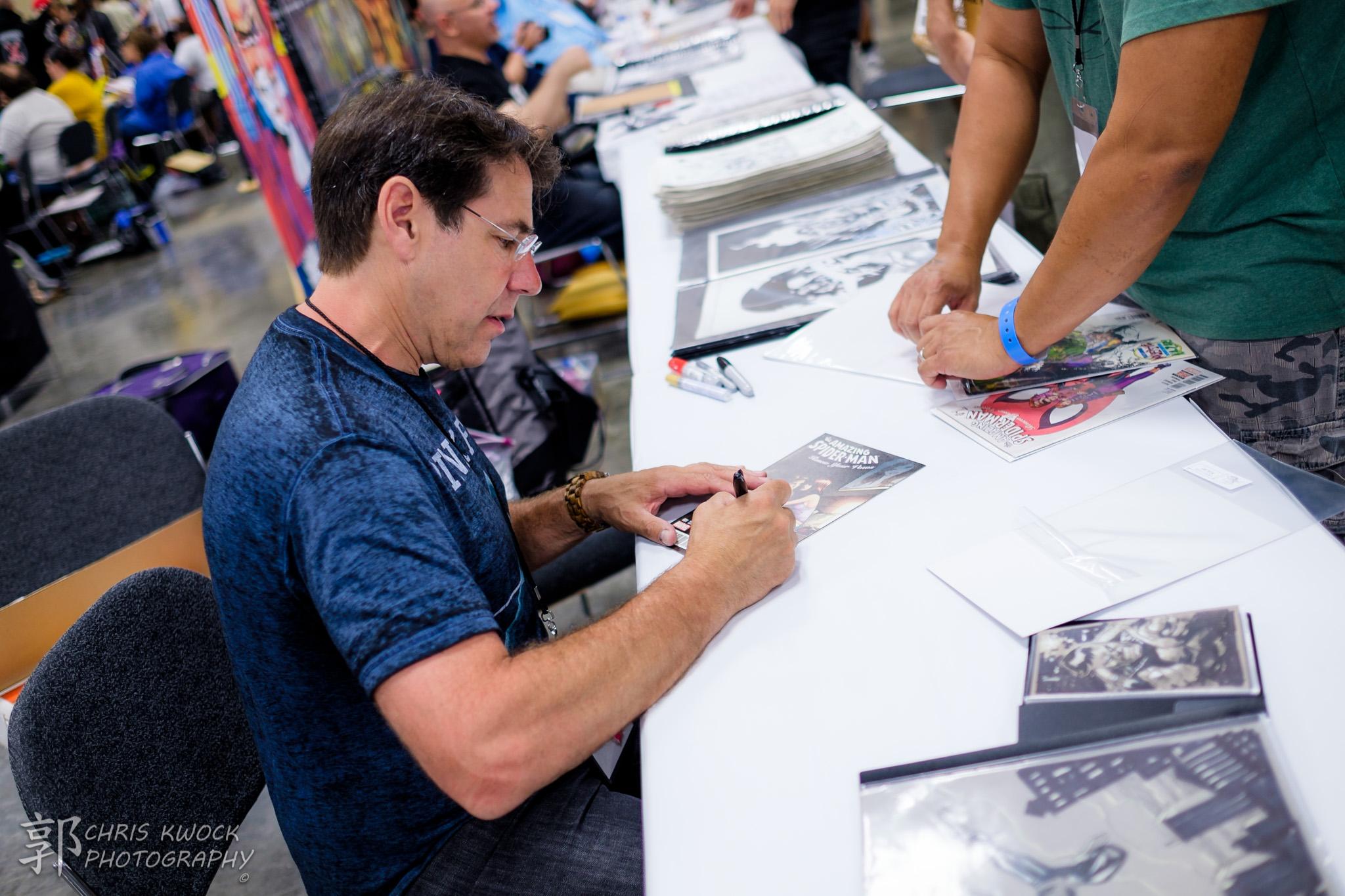 Adam Kubert at Amazing Hawaii Comic Con