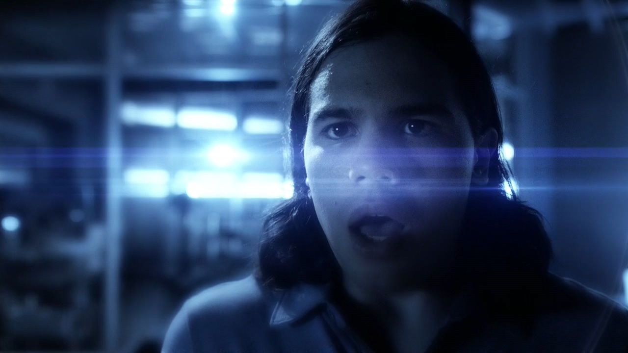 Cisco's lens flare inducing Vibes