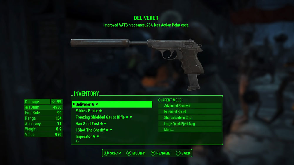 hands down the BEST pistol in the game