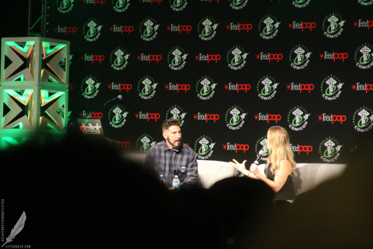 Jon Bernthal at his panel