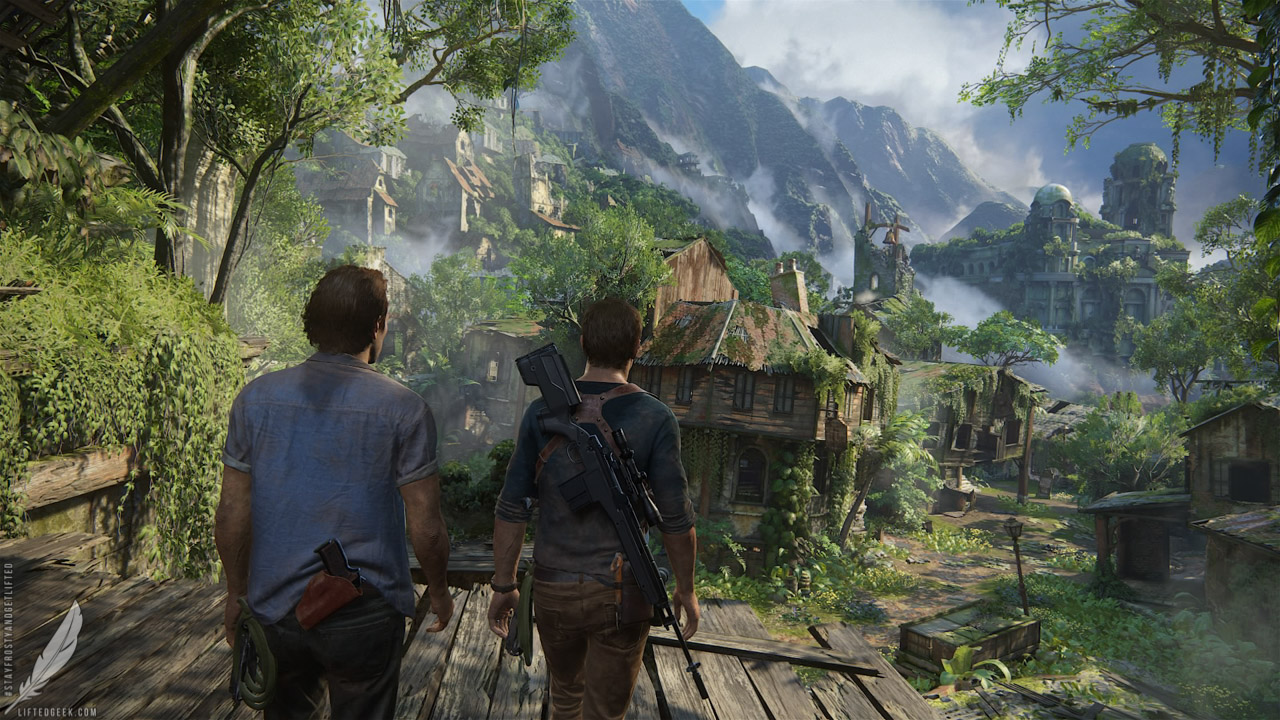 it wouldn't be an  Uncharted  game without discovering exotic seemingly lost cities