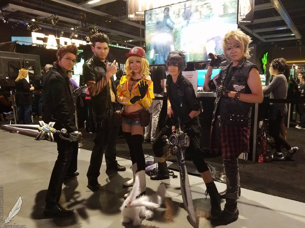 official FFXV cosplayers featuring the lovely  Vivid Vision  as Cidney