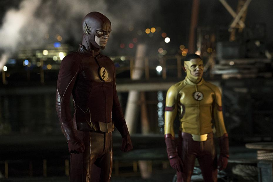 Flash and Kid Flash! Finally together!