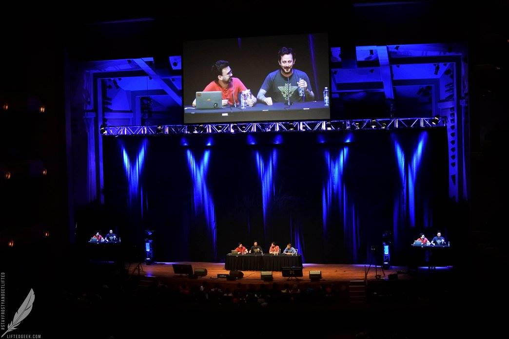The Rooster Teeth Panel