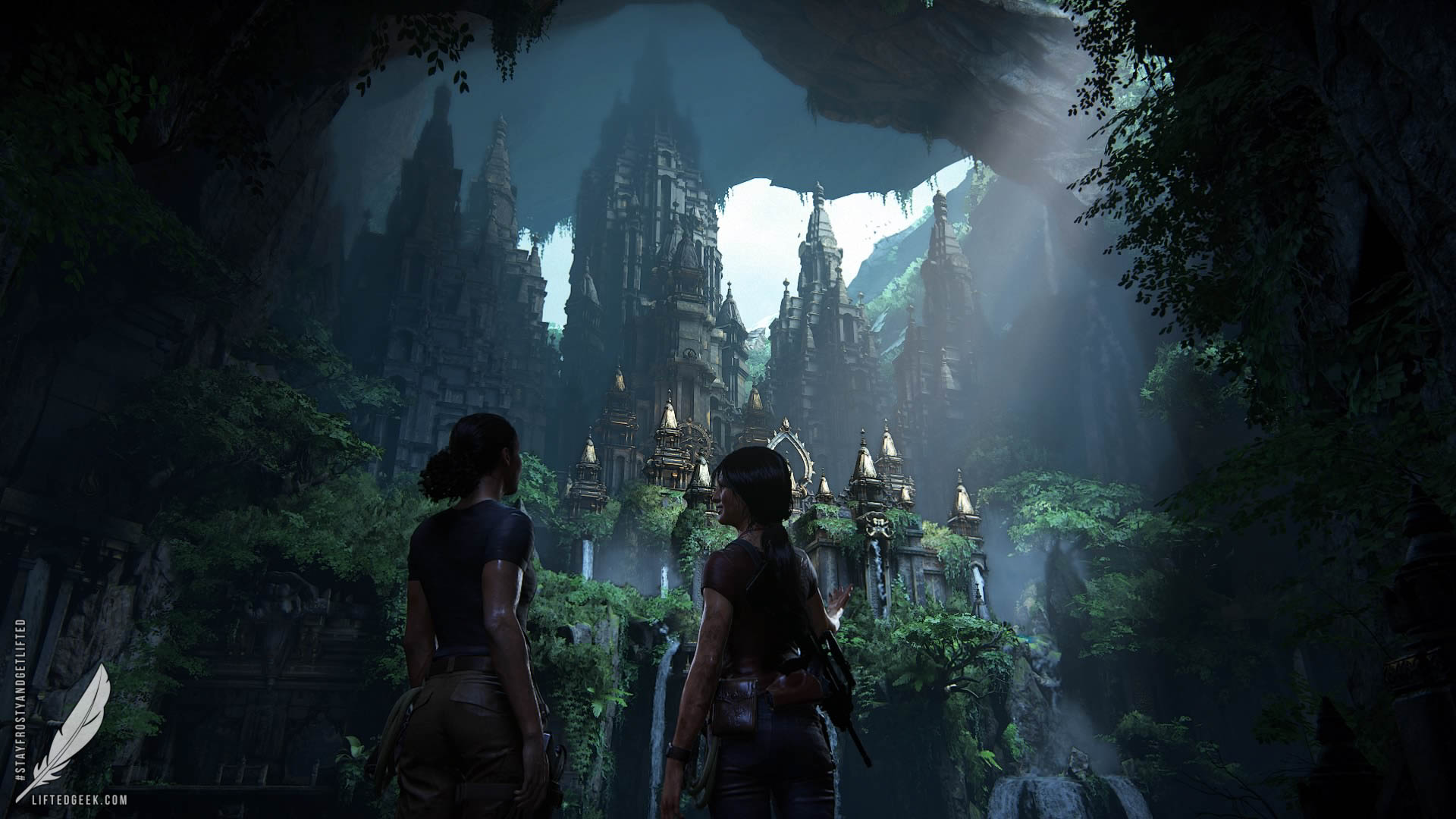 wouldn't be  Uncharted  without beautiful scenery