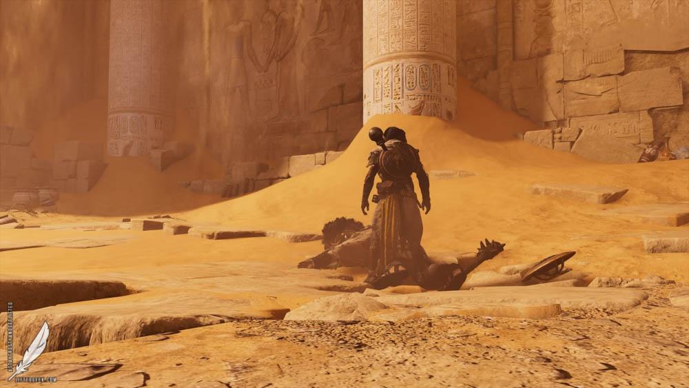 the beautiful world of  Assassin's Creed Origins