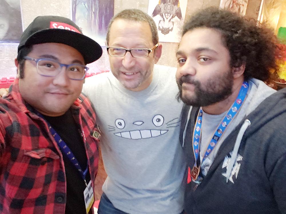 great meeting you Greg!