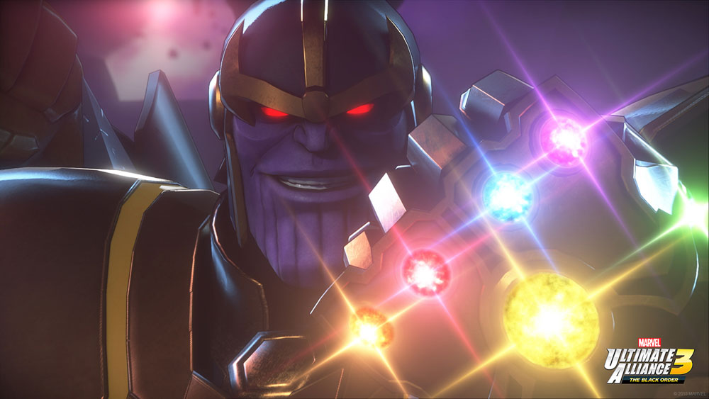 Thanos is back on his B.S.