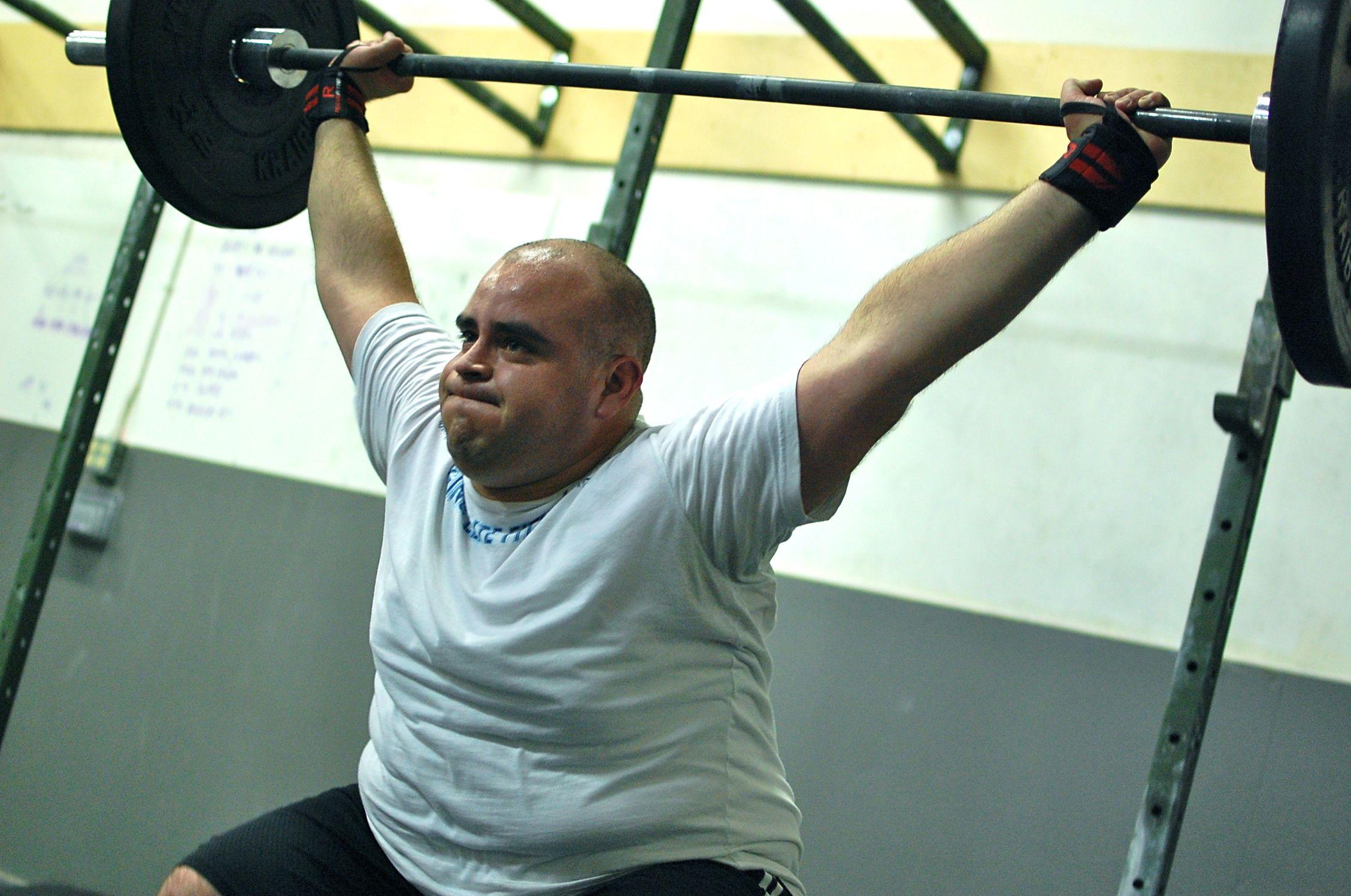 Determined... ANTONIO!