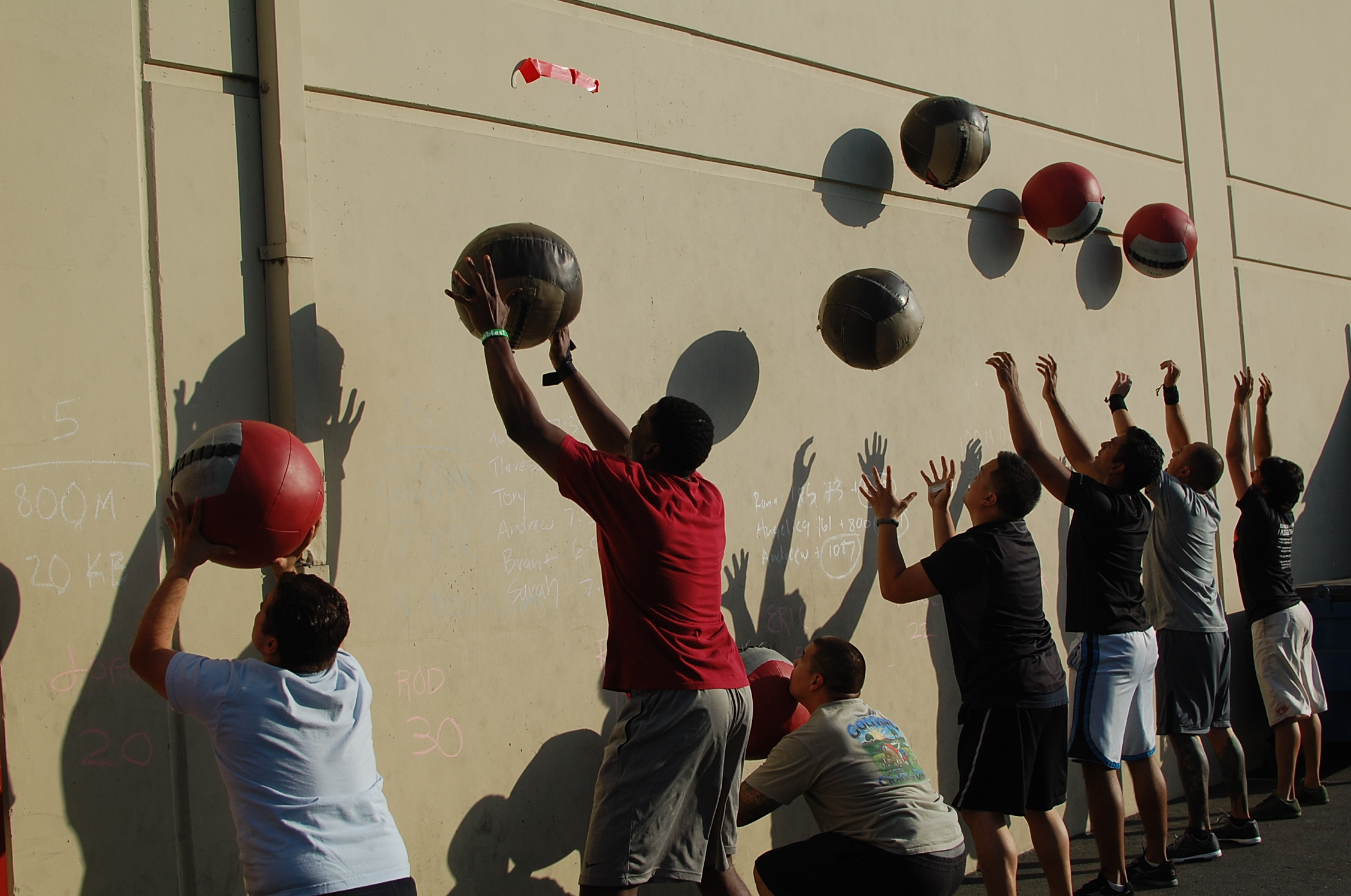 Wall Ball- the great EQUALIZER!