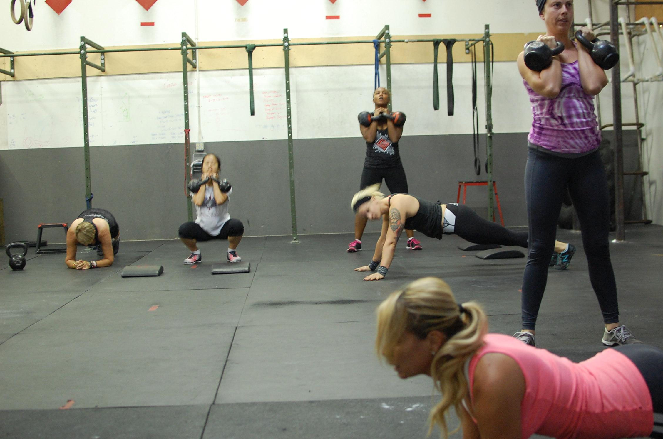 Libby's custom Birthday WOD turned out to be a kick-ass smoker!