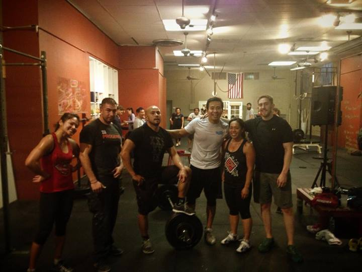 Post workout Euphoria with Kindred and a packed Snatches and Beer session!