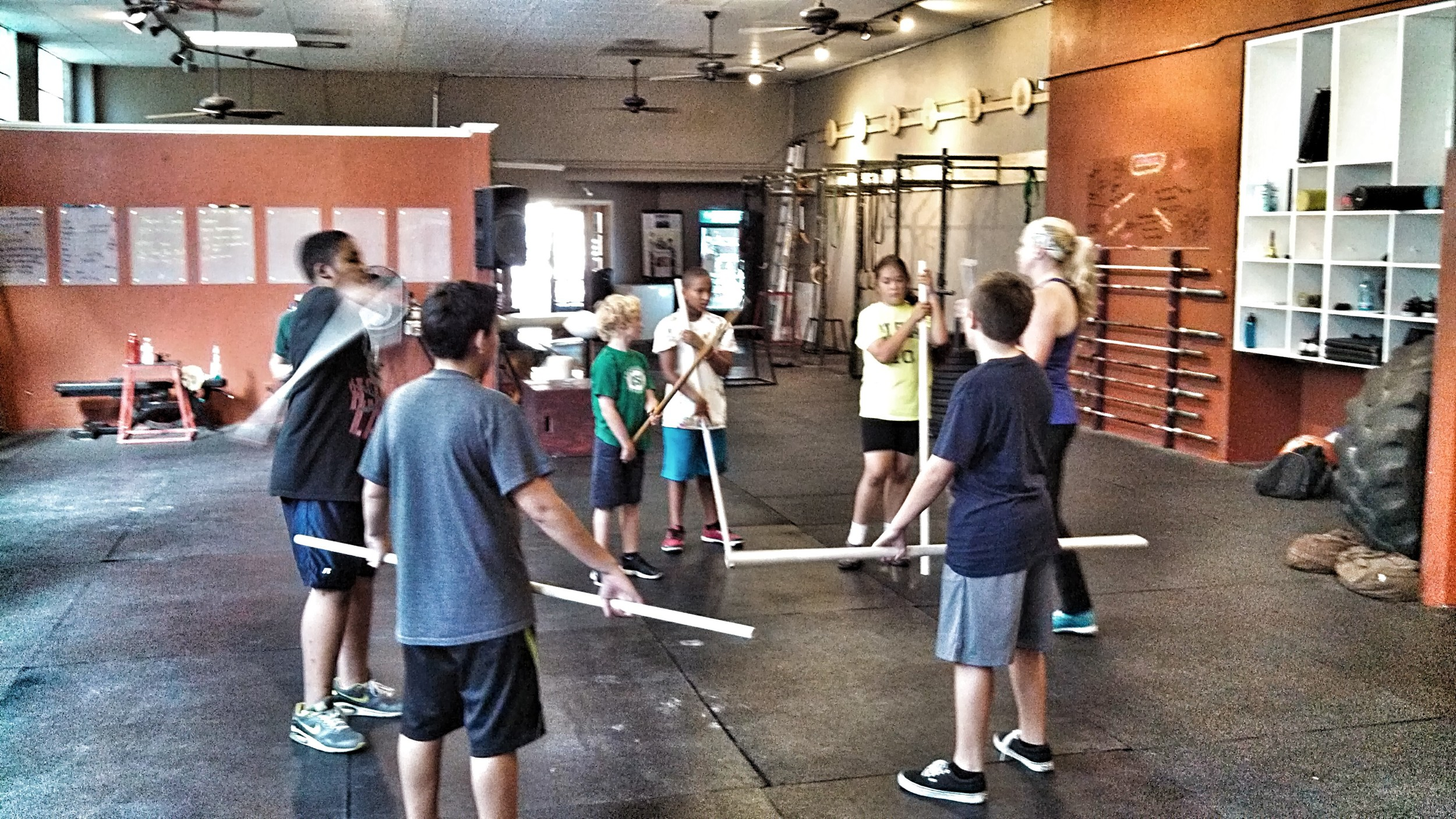 CrossFit SV LION CUBS! with Coach Becky