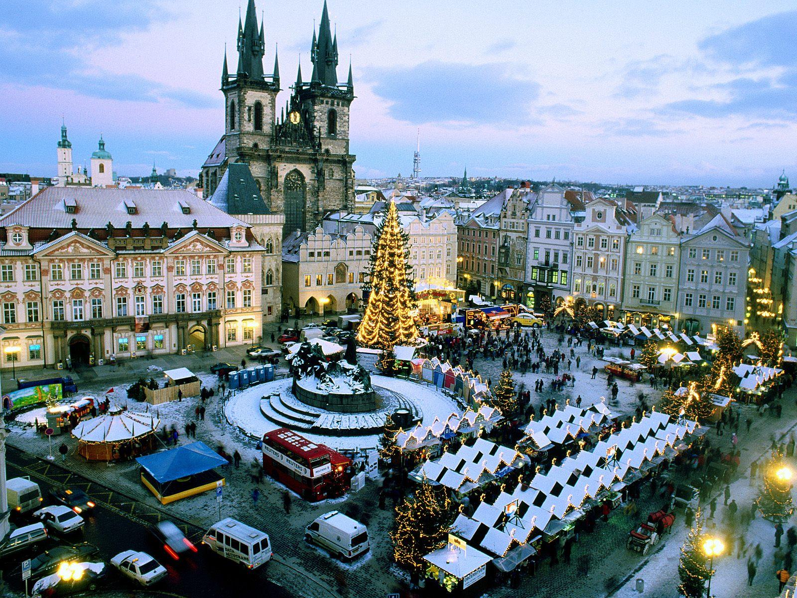 Christmas in Prague Czech Republic Market