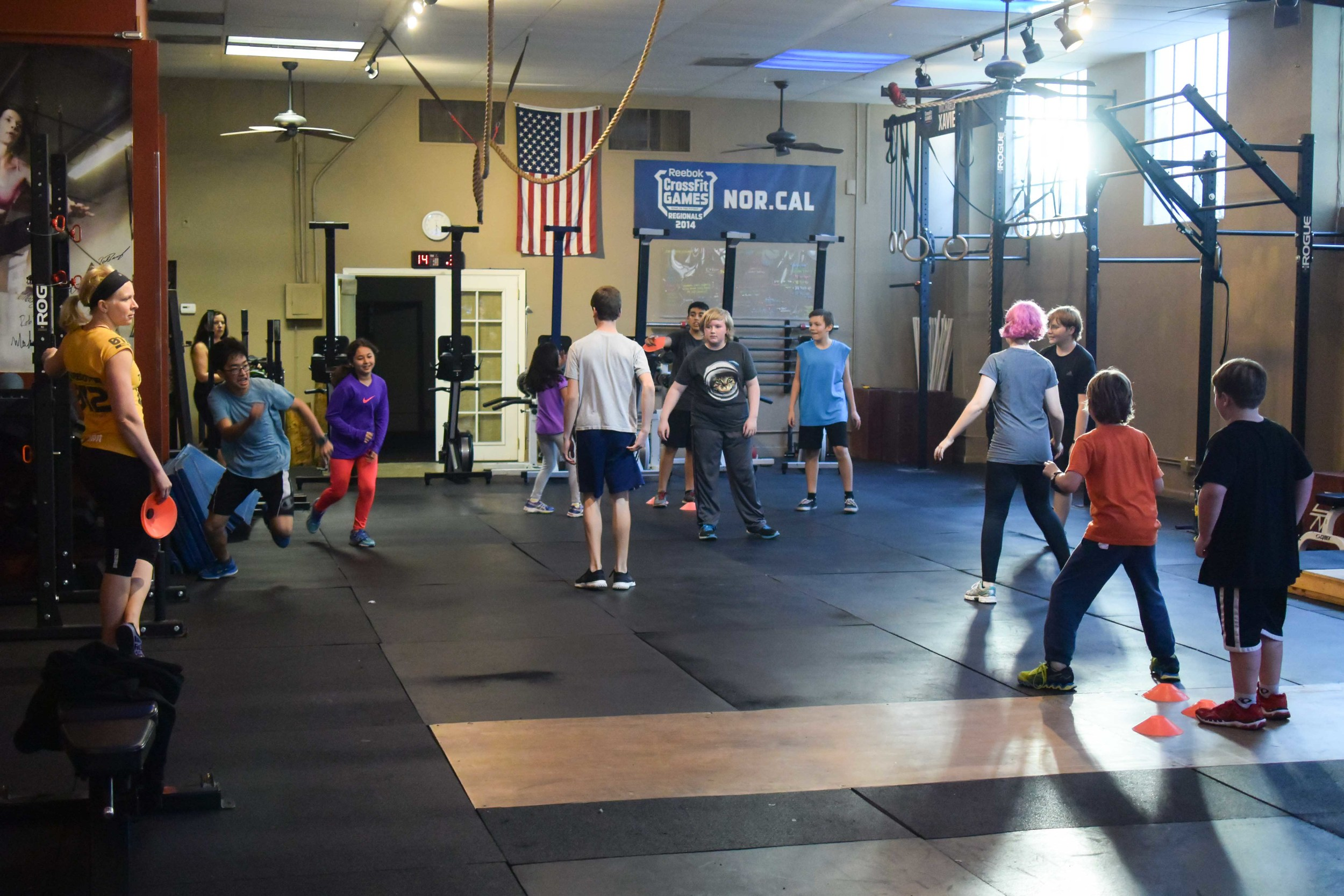 Over the years, Becky developed the kids class from 2 kids just 3 years ago to a fun filled CrossFit Kids program here at CFSV. Our future movers, shakers,and leaders are training HERE! Thank you Becky and we will carry on the fun and fitness as you embark on your new journey! We will soon add a weekend class for kids! Start date TBA!