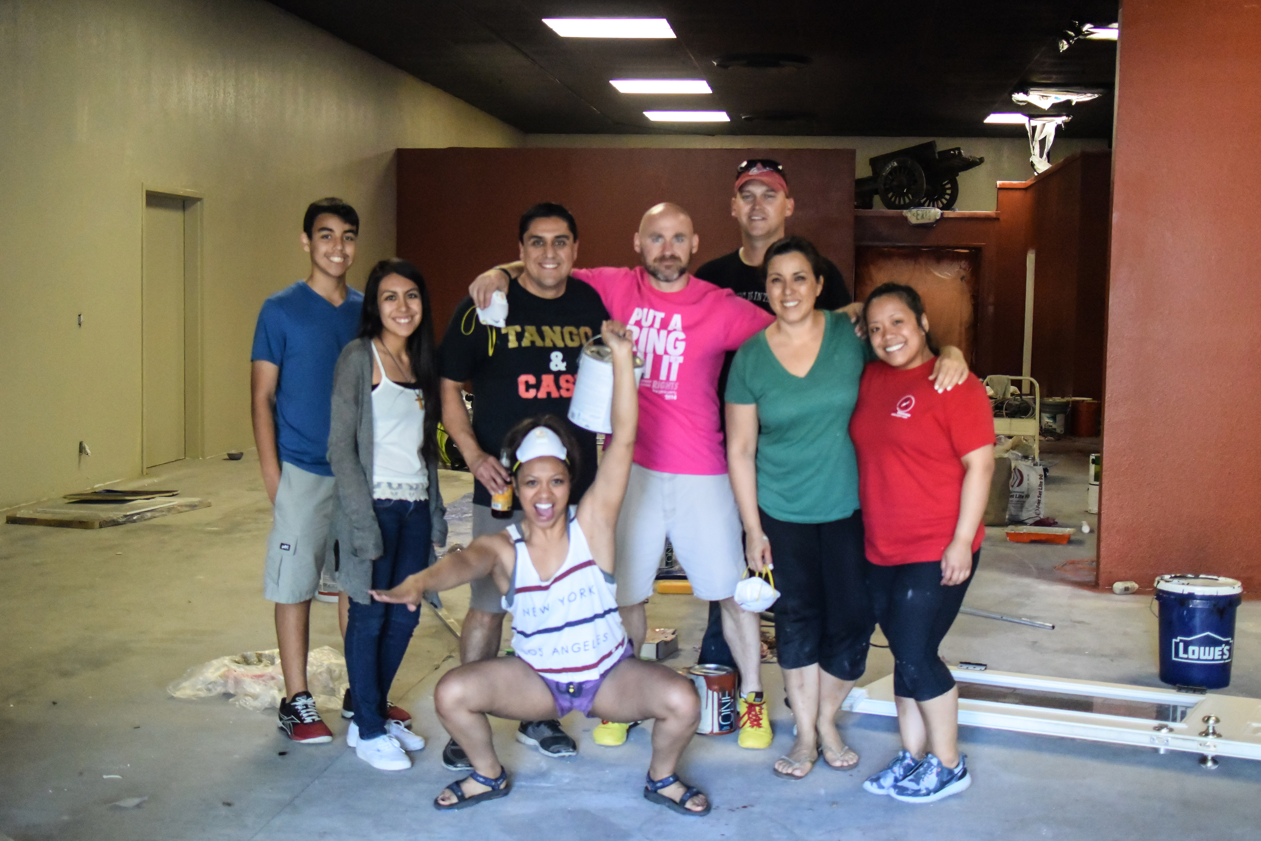 Thank you CFSV family for your time to help out during our expansion! Our new paint job is looking CrossFit chic and stylin'! We are enjoying the process as we see life improvements everywhere. I expect to see consistent and constant development from training to space improvements as we only rest when we are dead!