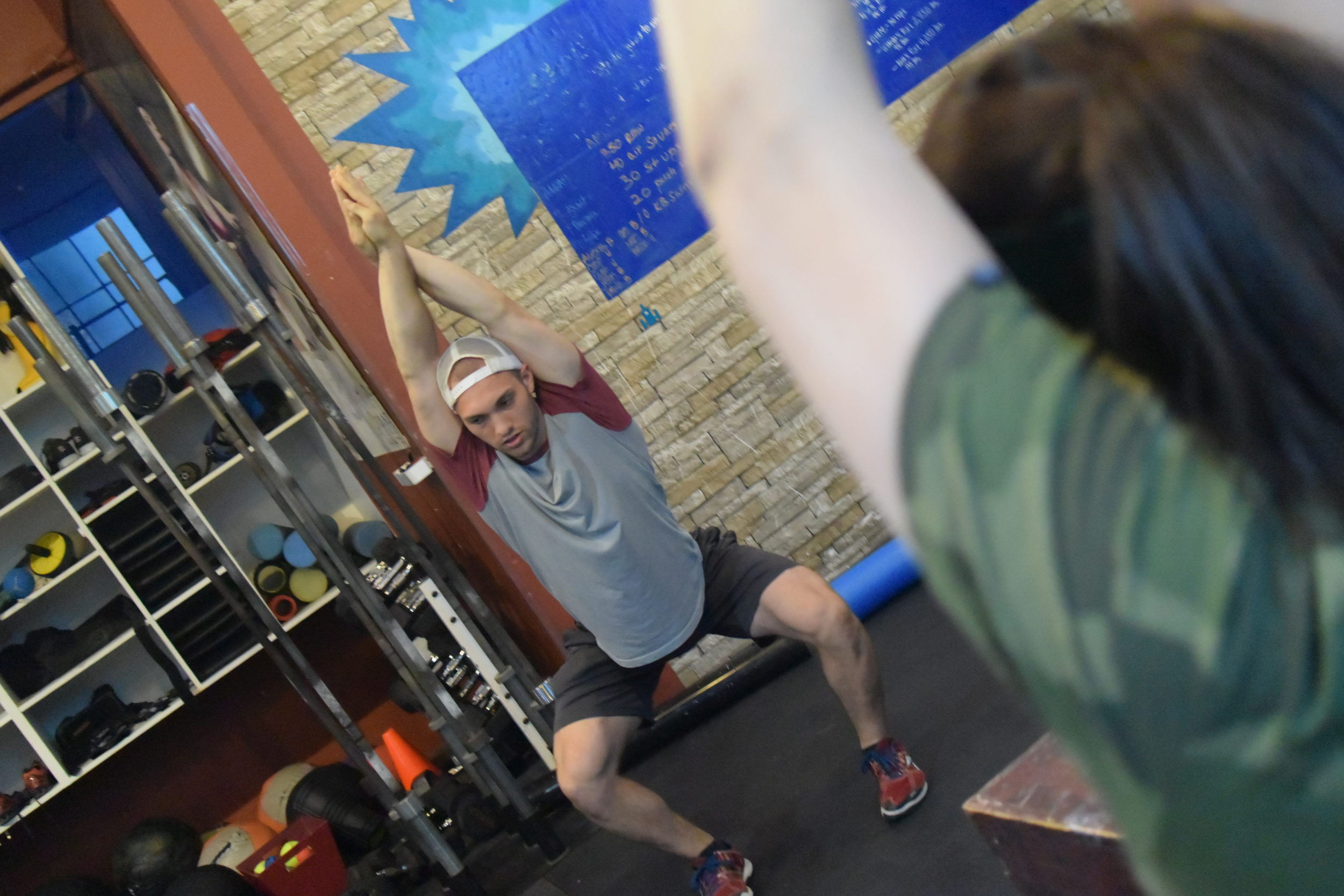 Welcome to our humble box Coach Andre from CrossFit Chico!