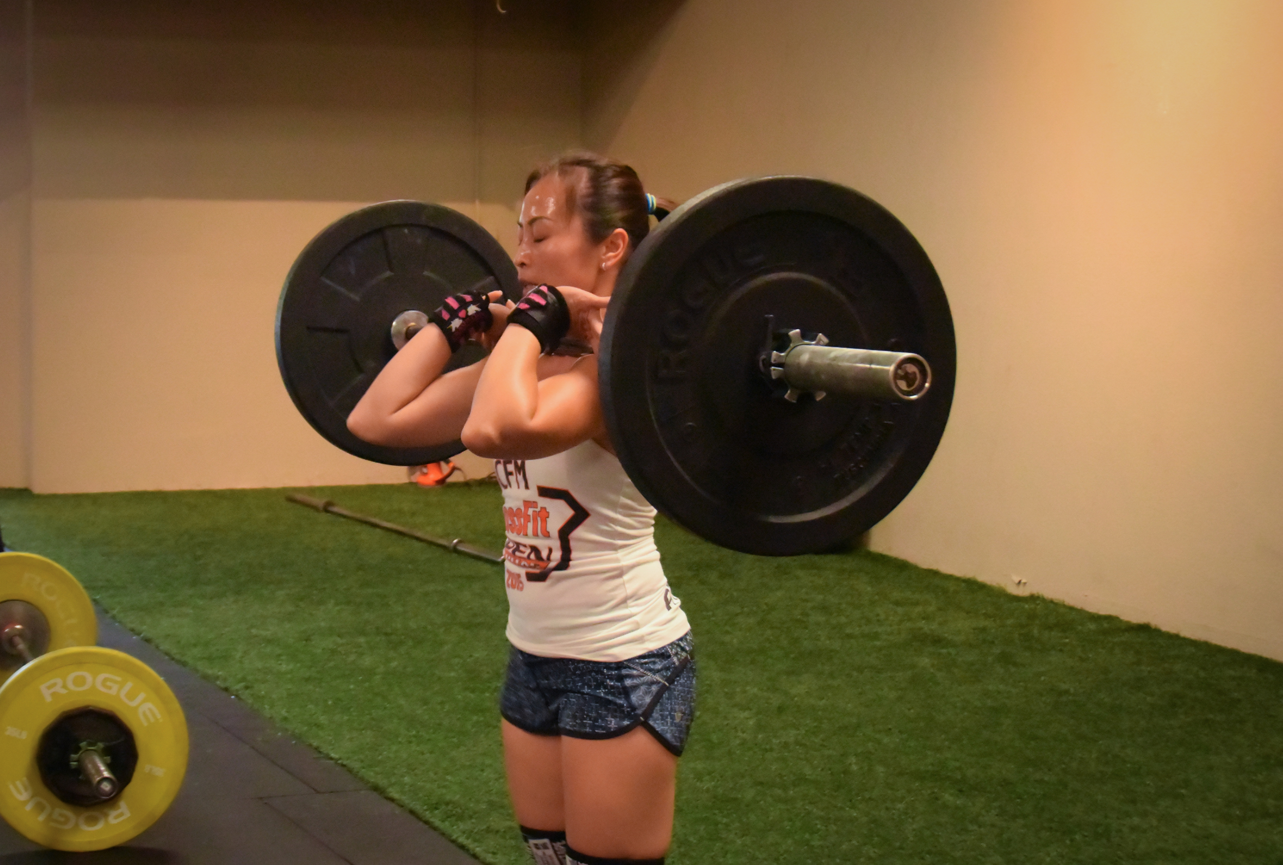 Felicia is knows to balance safe, efficient movement with intensity past her comfort zone.
