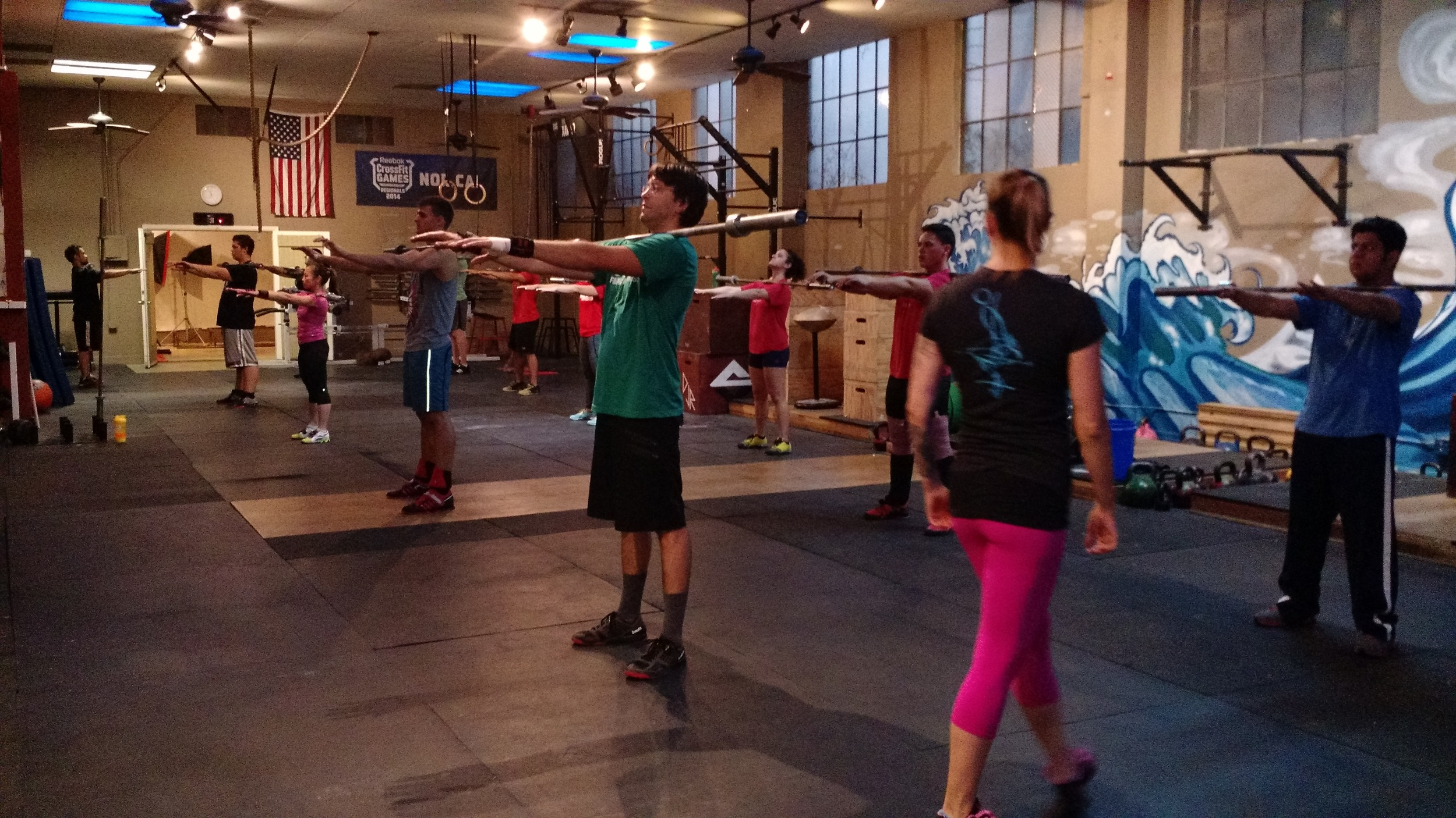 Big PRs in this week's Olympic Weightlifting class!