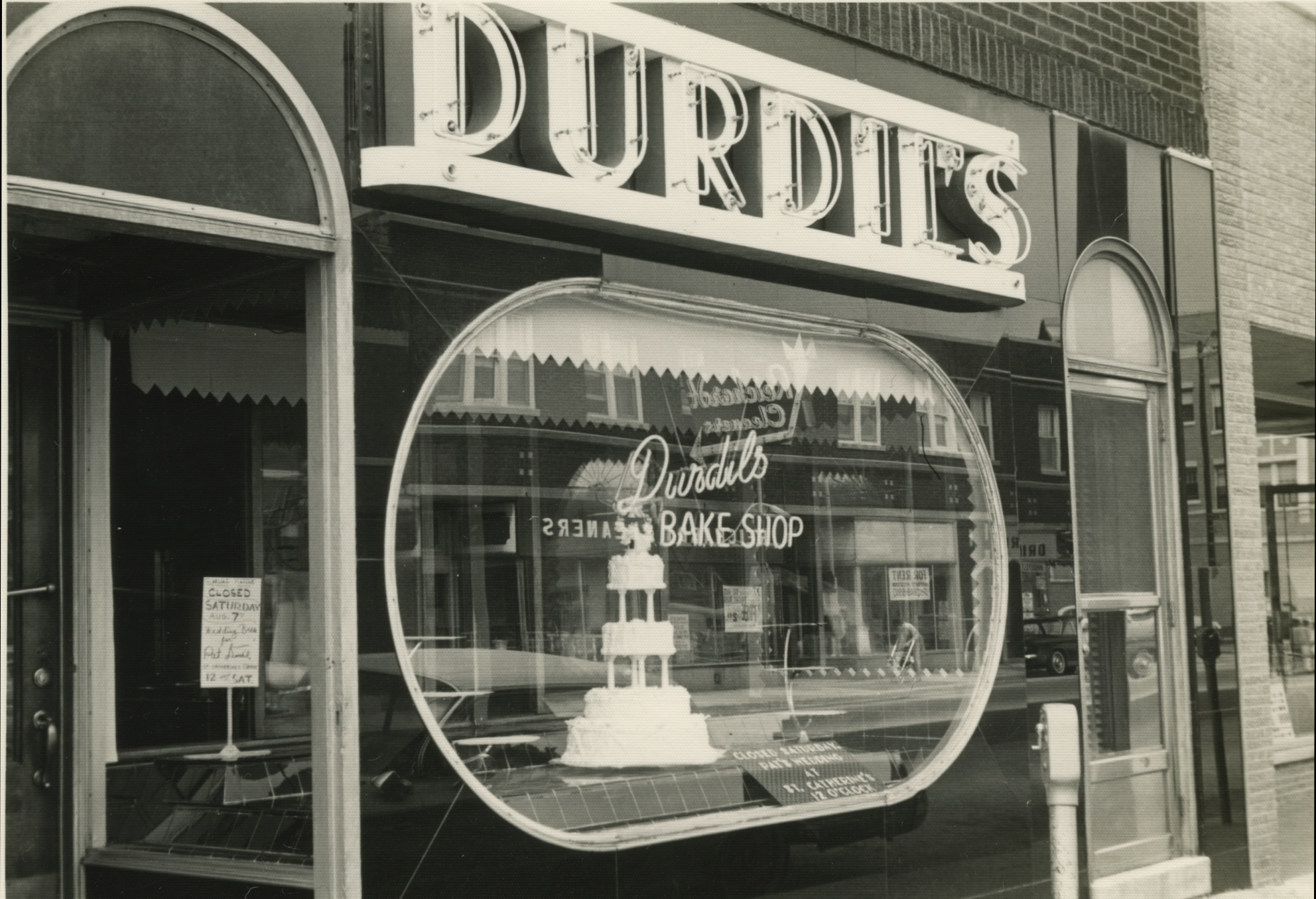 Durdil's bake shop where my mom grew up