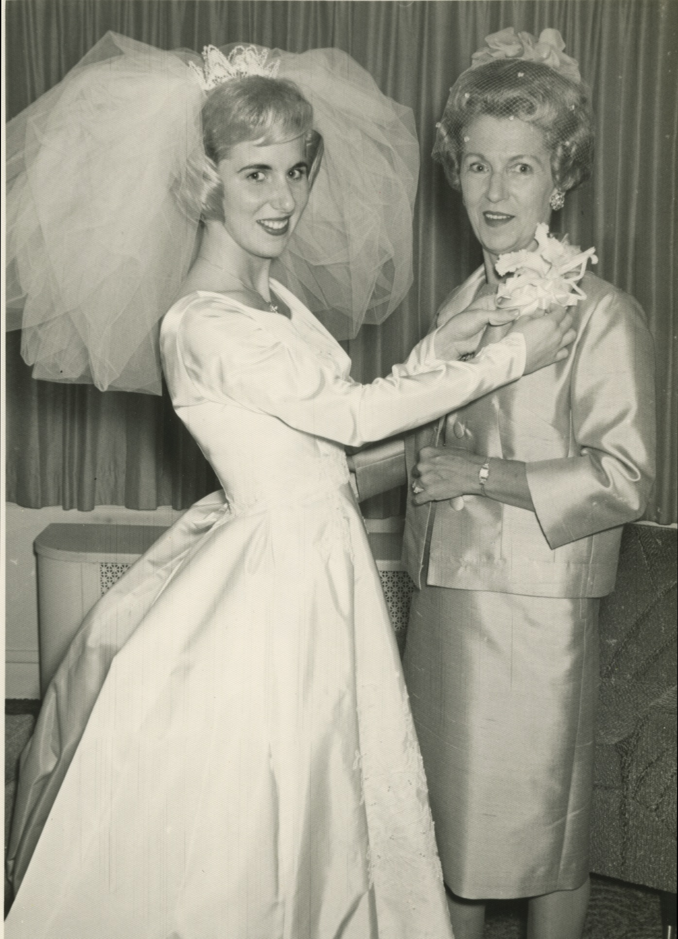 My mom and her mom, Alice