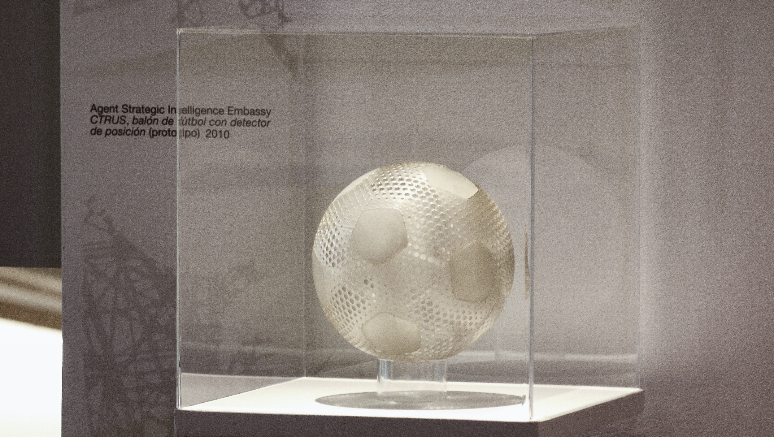 Museum of Modern Art, Mexico City 2011 CTRUS Footbal Featured at Fabrica Mexicana Show