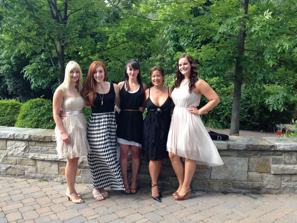Ladies of Bytown at PE and Natacha's Wedding