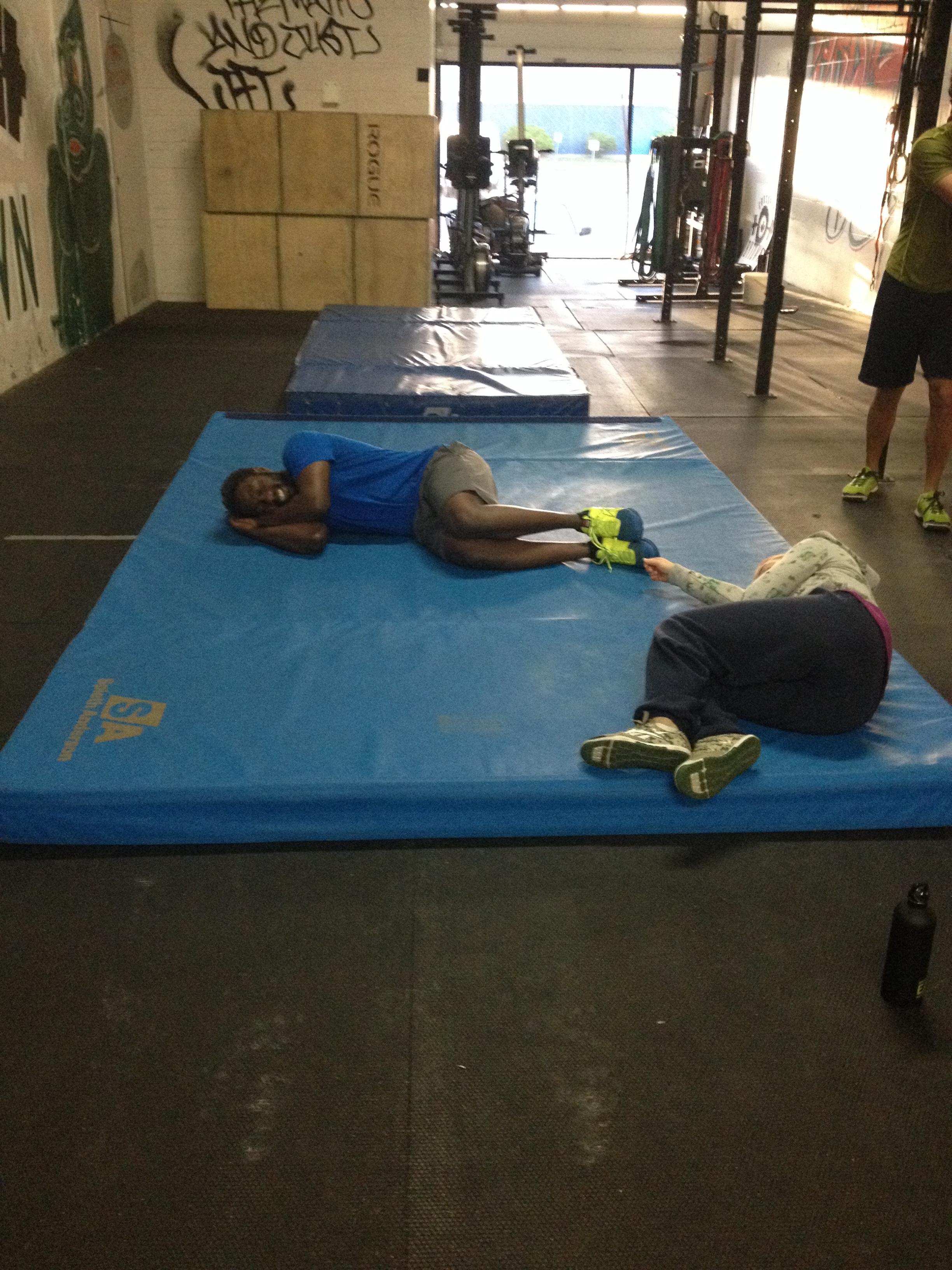 Gymnastics makes you tired