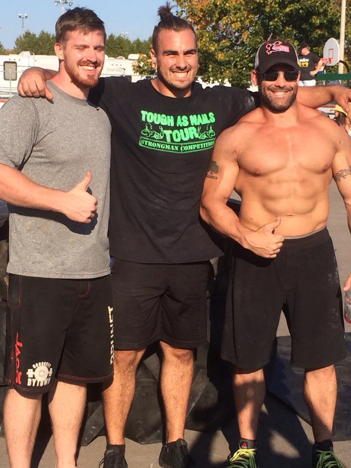 PE , Austyn and Everett @ strongman Comp in Carp