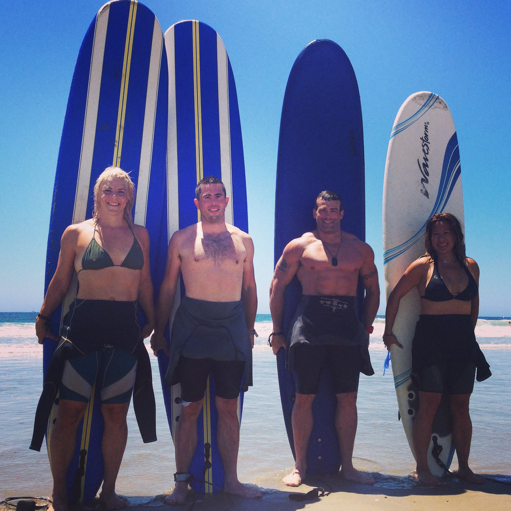 #THT that time we went surfing in Cali!