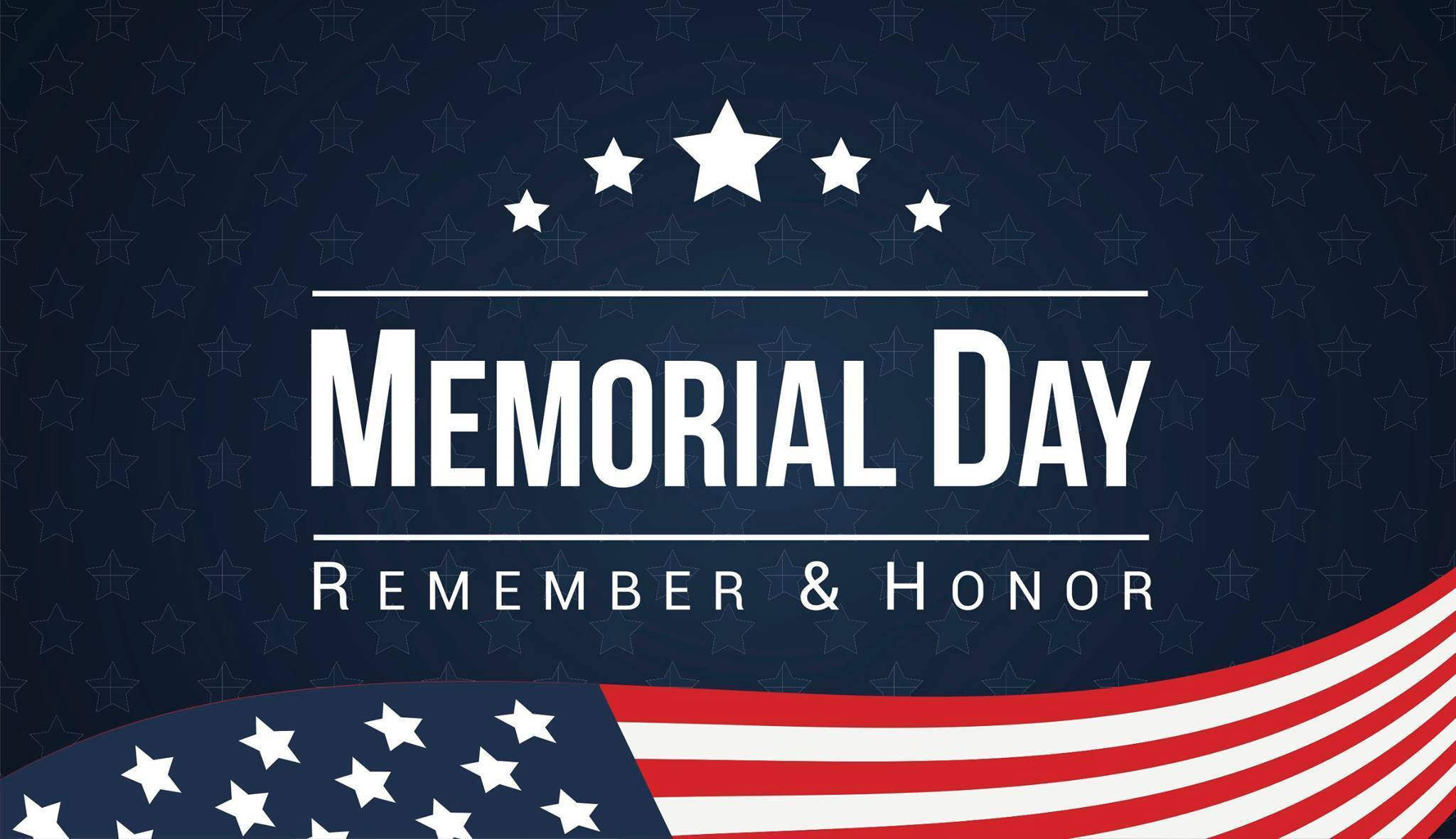 A Happy Memorial Day to our friends in the U.S. of A!