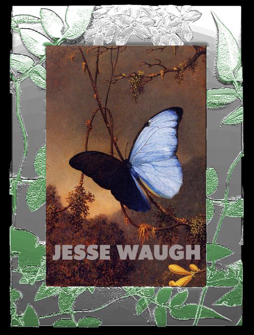 "Jesse Waugh ""Jasmine Frame"" 4X6 2012 Mixed metals, enamel and glass"