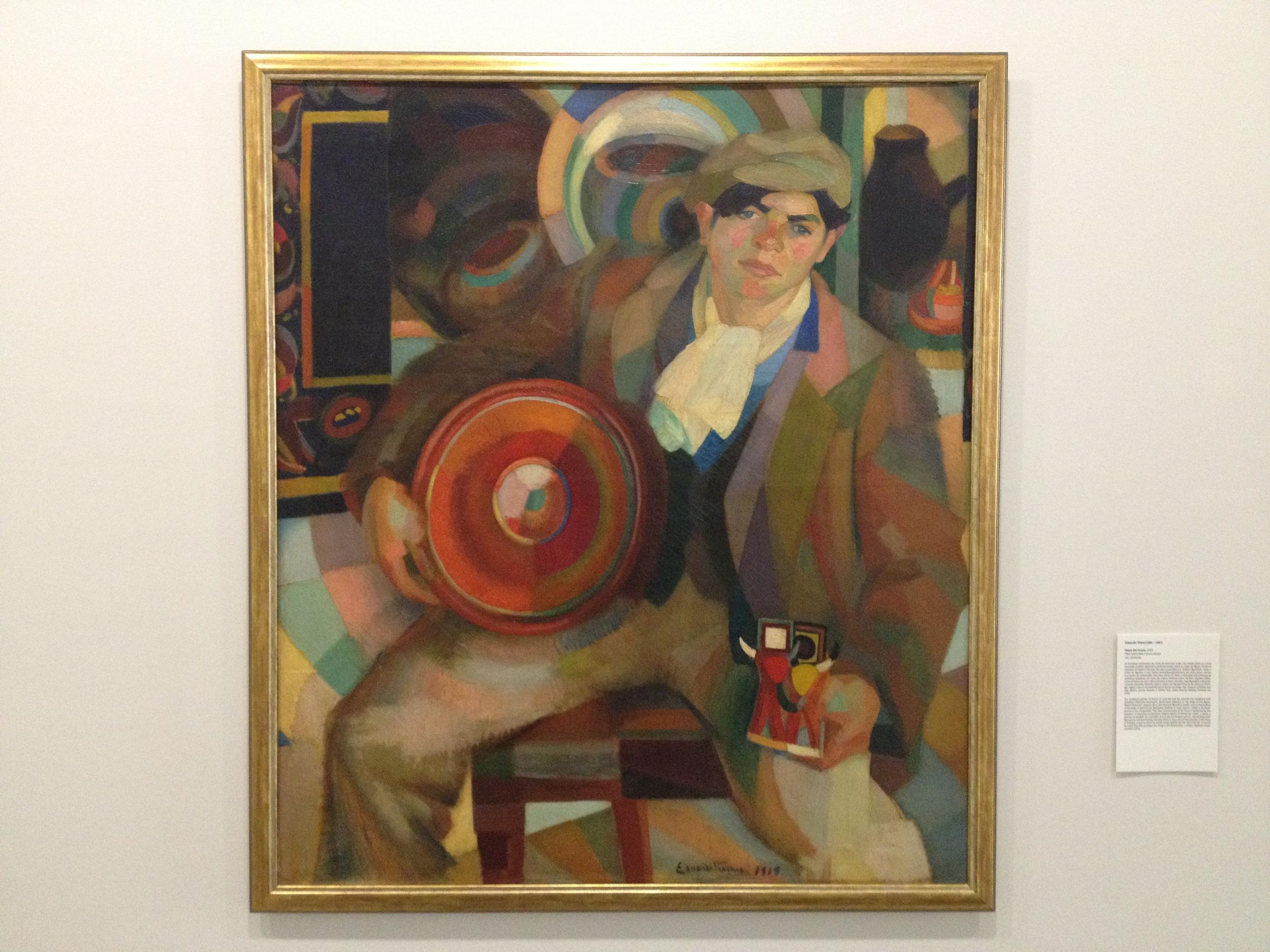 """Eduardo Viana """"Rapaz das Loucas"""" 1919 Oil on canvas"""