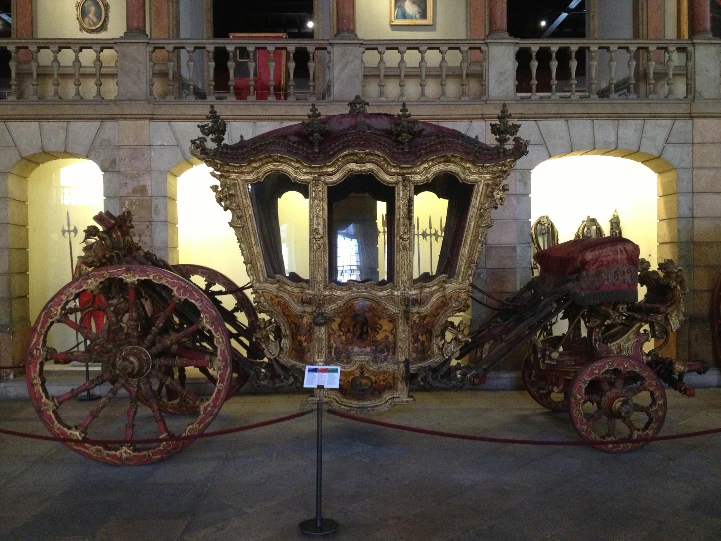 King Joao V Coach with Zodiac Wheels early 18th century Portugal
