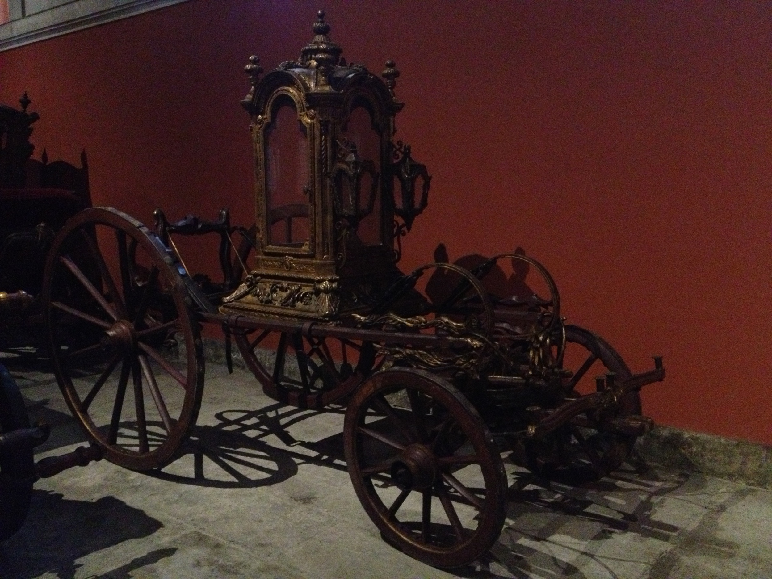 Processional Berlin late 18th century Portugal for transportation of sacred statues