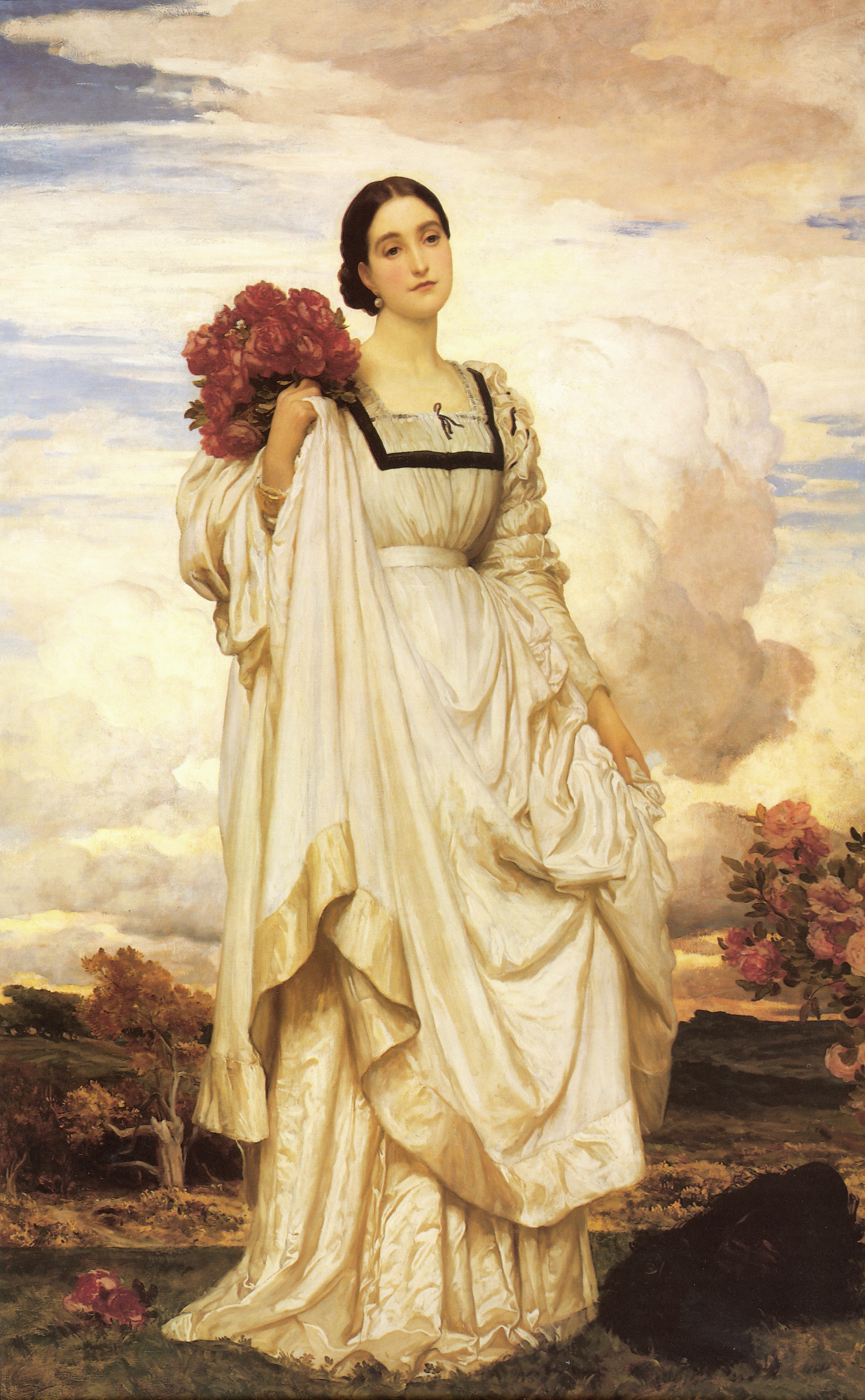 Lord Frederick Leighton  The Countess Brownlow  1879 Oil on canvas