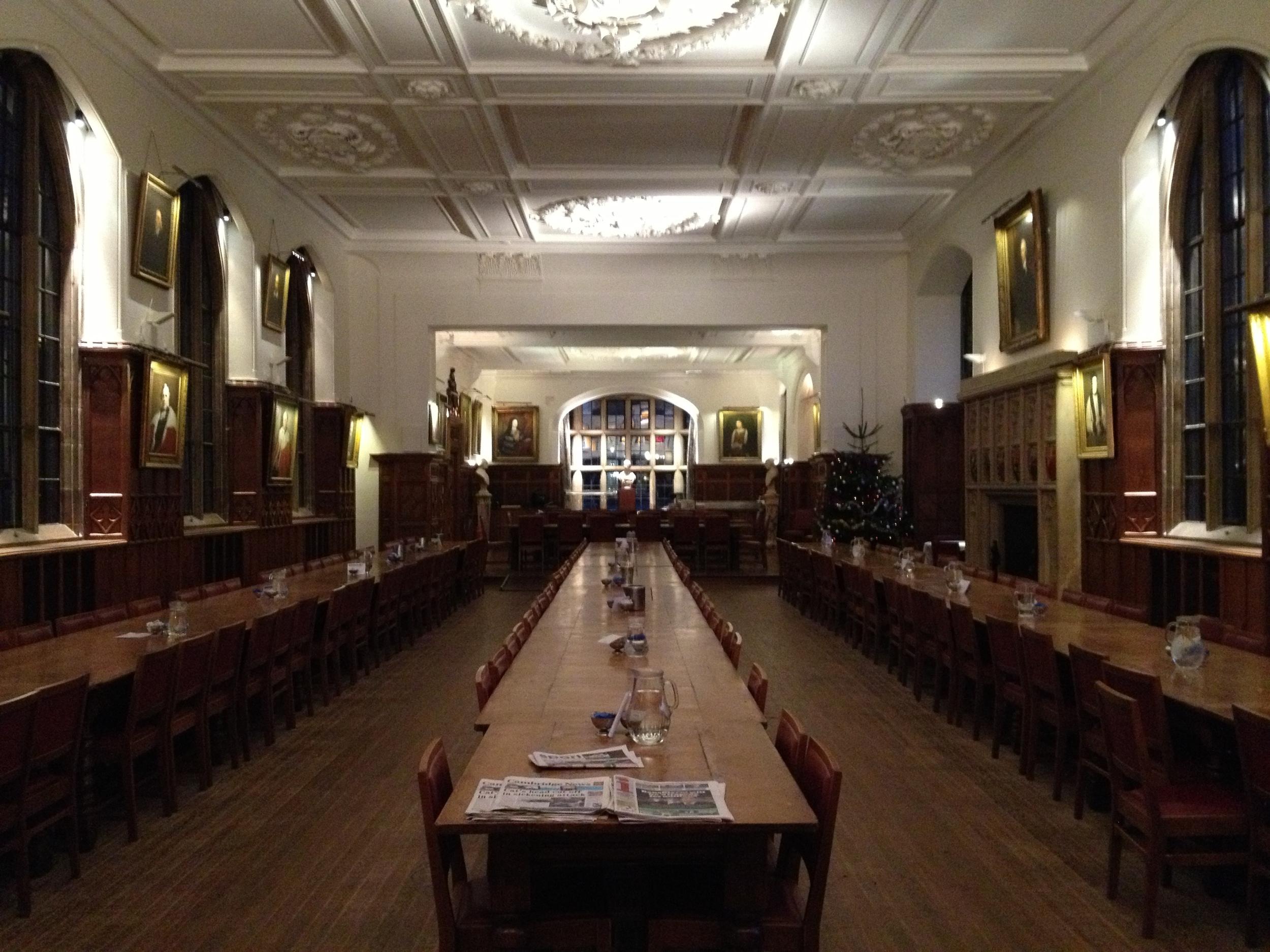 Cambridge College Dining Room